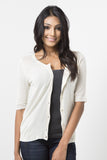 Basic Short Sleeve Cardigan