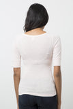 Wide Scoop Neck T-Shirt