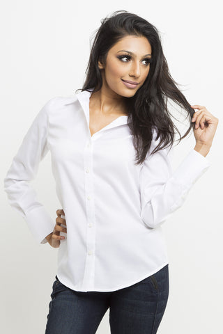 Modern Classic Tailored Button Up Shirt