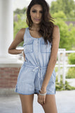 Carolina Chambray Romper