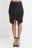 Jaguar Asymmetrical Skirt
