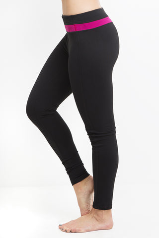 Raspberry Band Athletic Legging