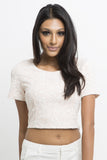 Emma Scoop Neck Crop