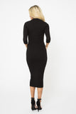 Ribbed Mariah Bodycon Dress