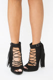 Zoe Lace Up Bootie