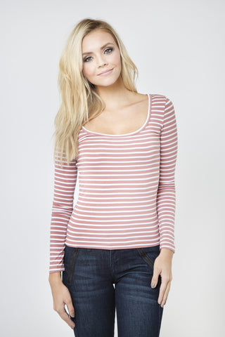 Cara Striped Top