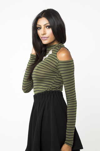Penelope Open Shoulder Top