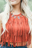 Burning Up Fringe Crop