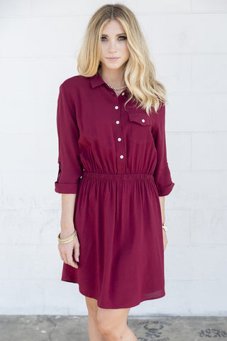 Lanie Shirtdress