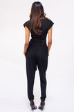 Downtown Belted Jumpsuit