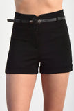 Taylor High Waist Cuffed Shorts