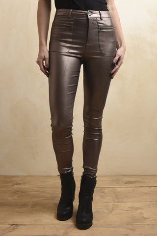 Bronze glam jeans