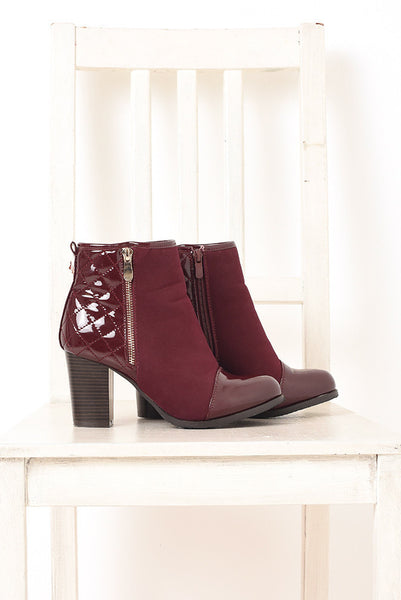 Darby Quilted Bootie