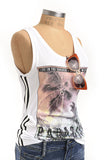 Paradise Graphic Print Athletic Tank