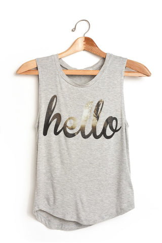 "Well ""Hello"" There Tanktop"