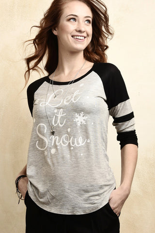 Let it snow top