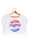 For the love of Pepsi crop top