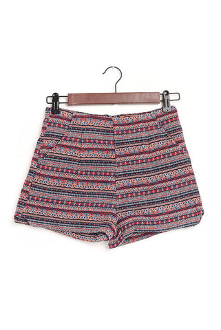 Cabo multi colored pattern shorts