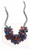 Faroe colorful bib necklace