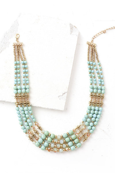 Oceanside layered necklace