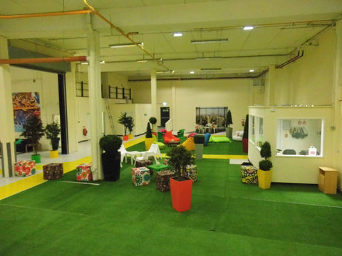 Artificial Indoor Seating Area - PlantPeople