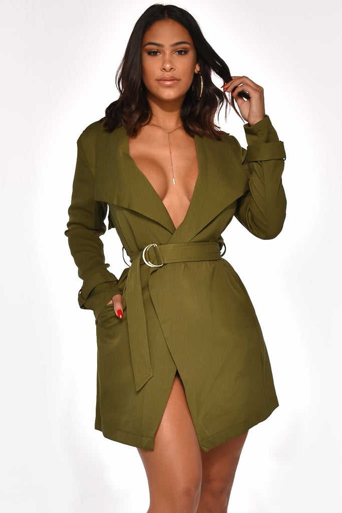 RISKY BUSINESS TRENCH DRESS