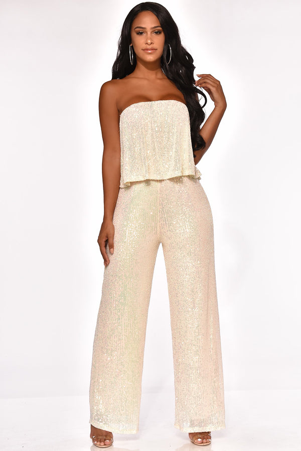 FLASHING LIGHTS JUMPSUIT