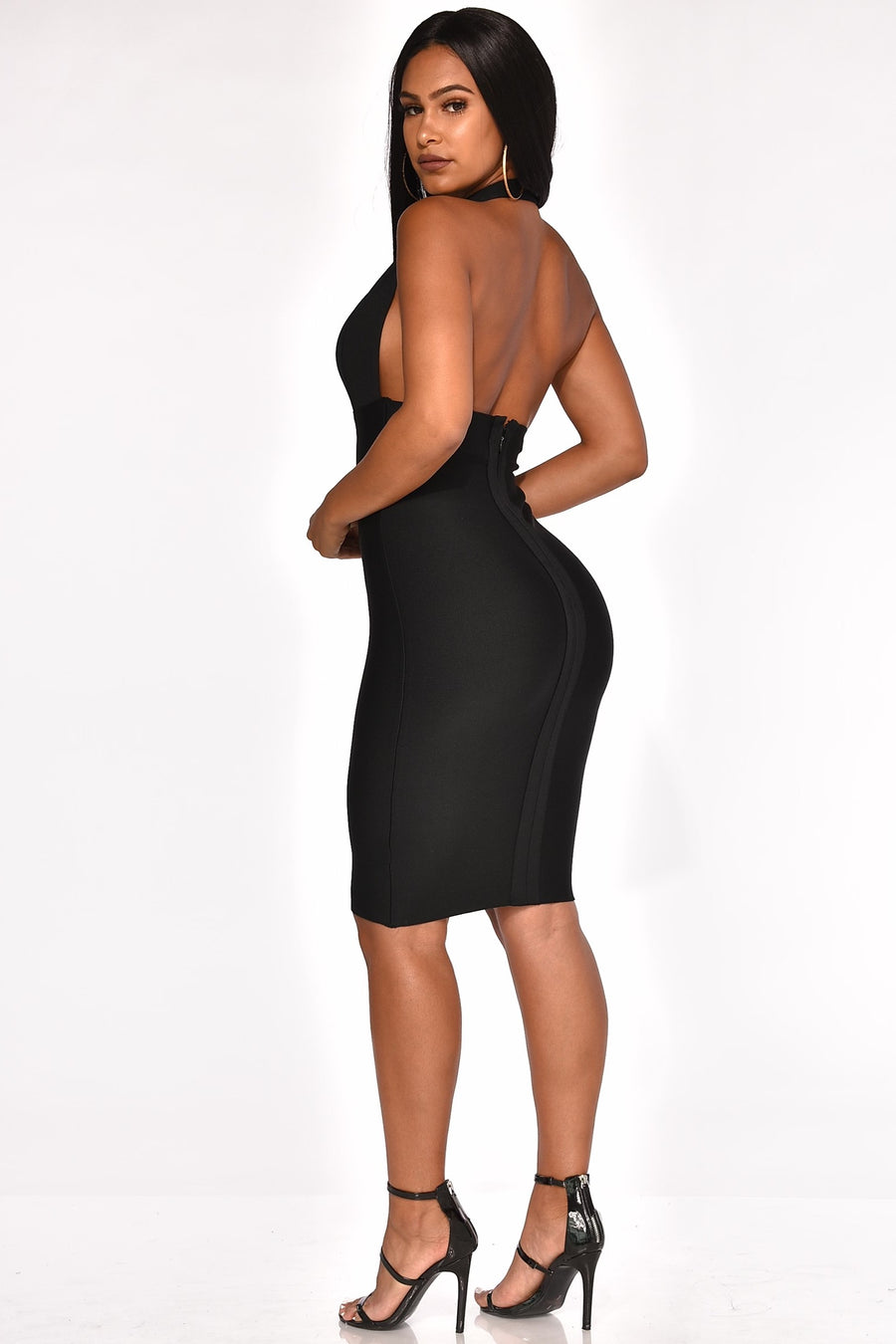 SHOW STOPPER BANDAGE DRESS
