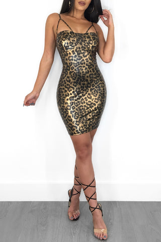 DANGER ZONE MINI DRESS