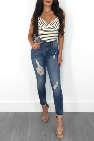 BRENDEN HIGH WAIST DENIM