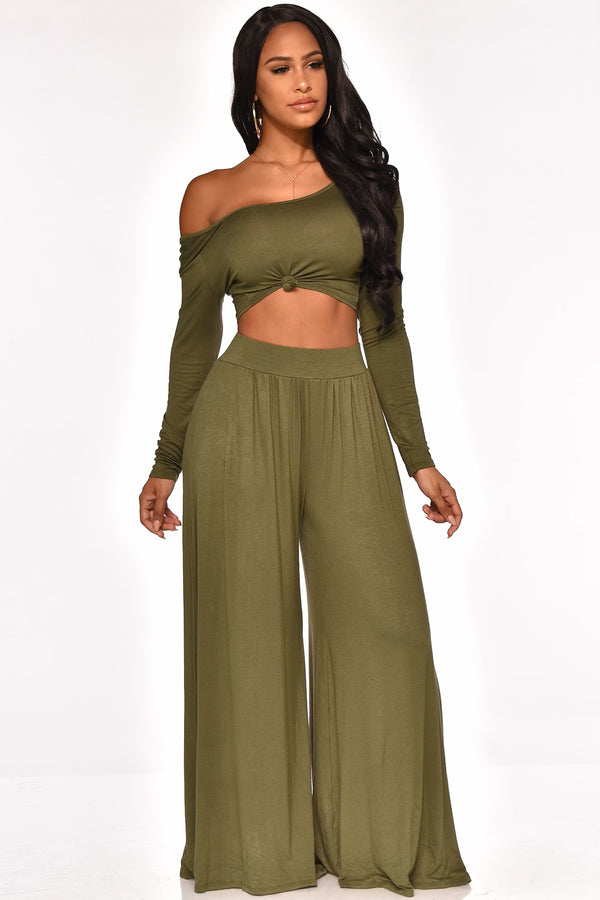 JUST CHILL PANT SET