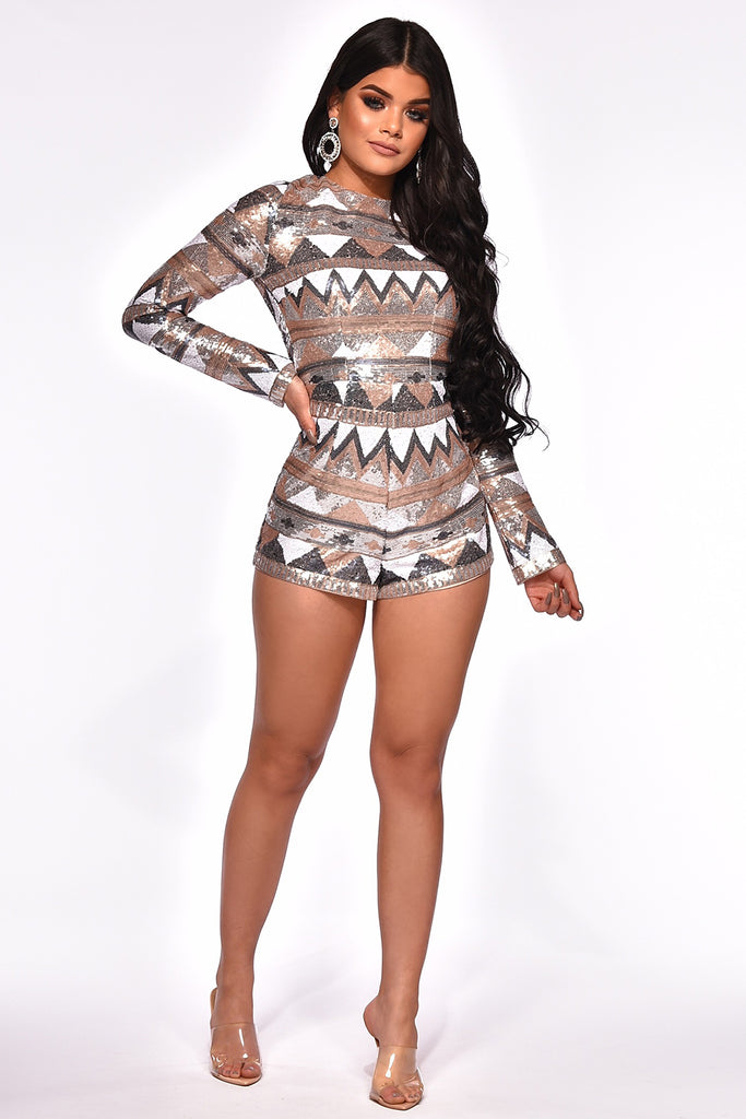 TRUE GLAM ROMPER
