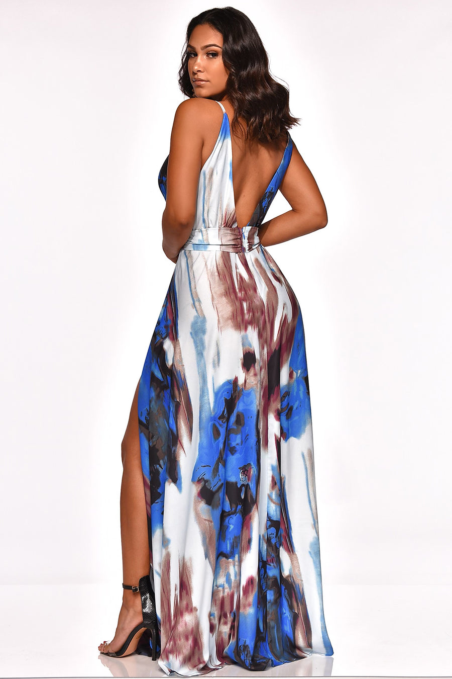SKY IS THE LIMIT MAXI DRESS