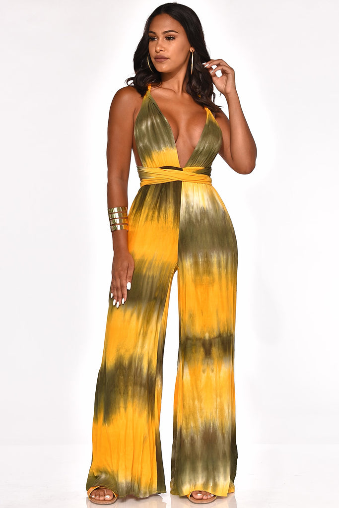 BRINGING THE VIBES JUMPSUIT