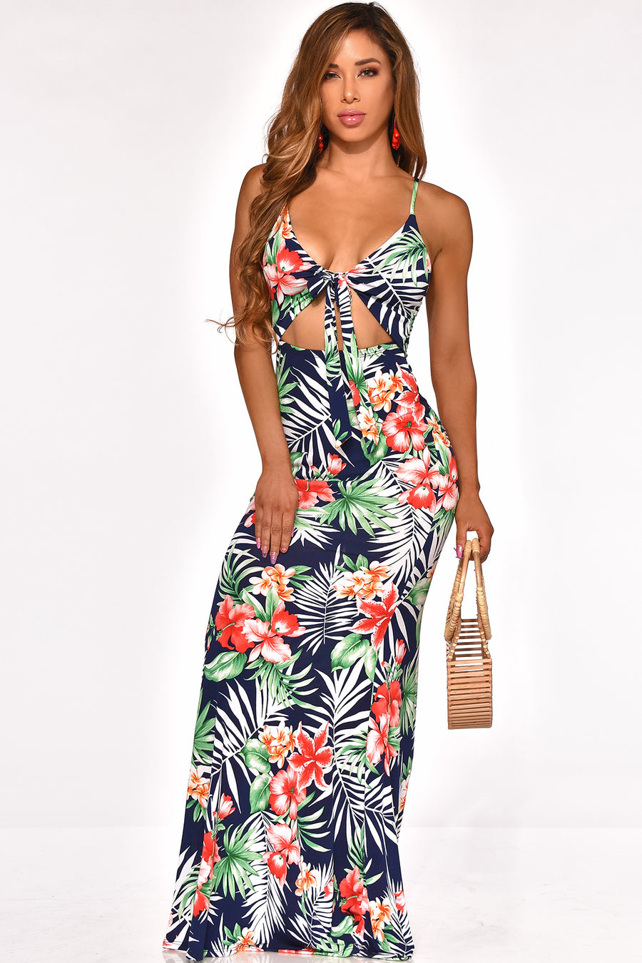 SEASIDE SIPPIN MAXI DRESS