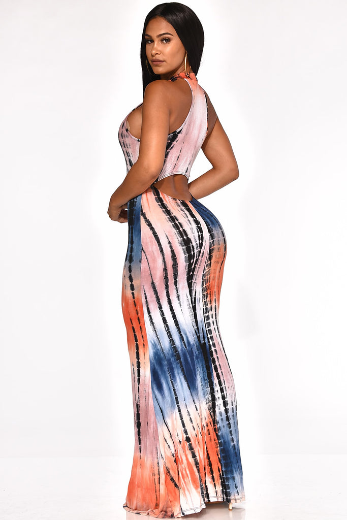 HIGH SUMMER MAXI DRESS