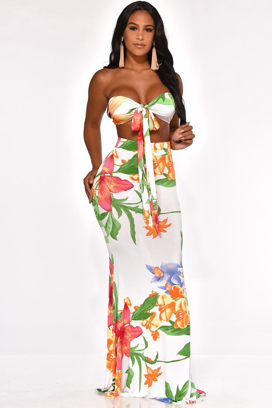 MUST BE HEAVEN SENT SKIRT SET
