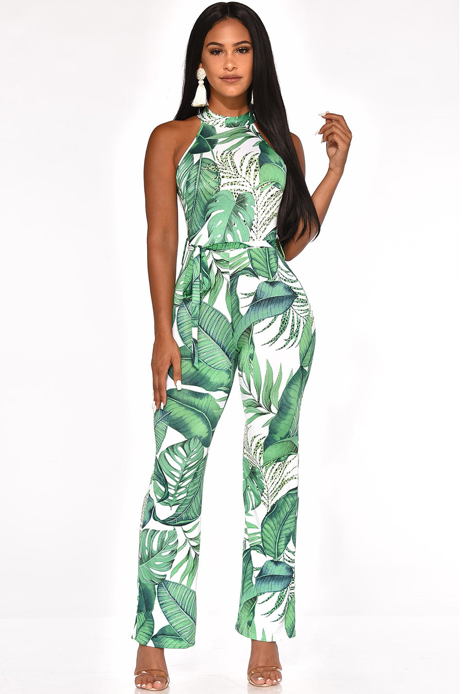 TRAVELIN IN THE TROPICS JUMPSUIT