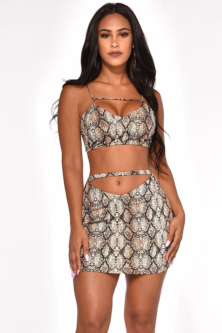 JUST TOO WILD SKIRT SET