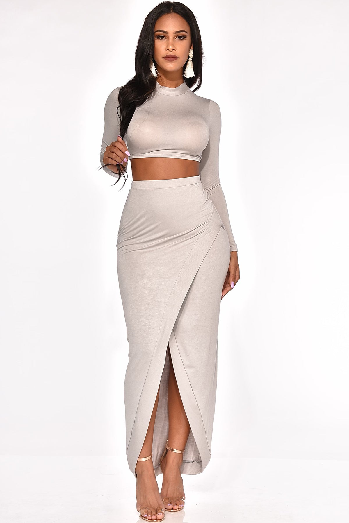 MORE THAN ENOUGH SKIRT SET