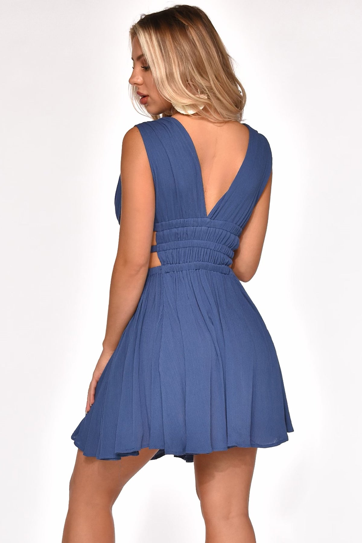 TOO CUT OUT FOR YOU MINI DRESS