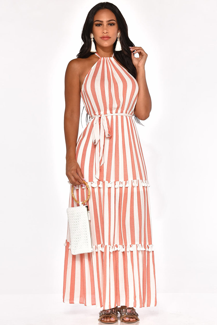 SUMMER BABE MAXI DRESS
