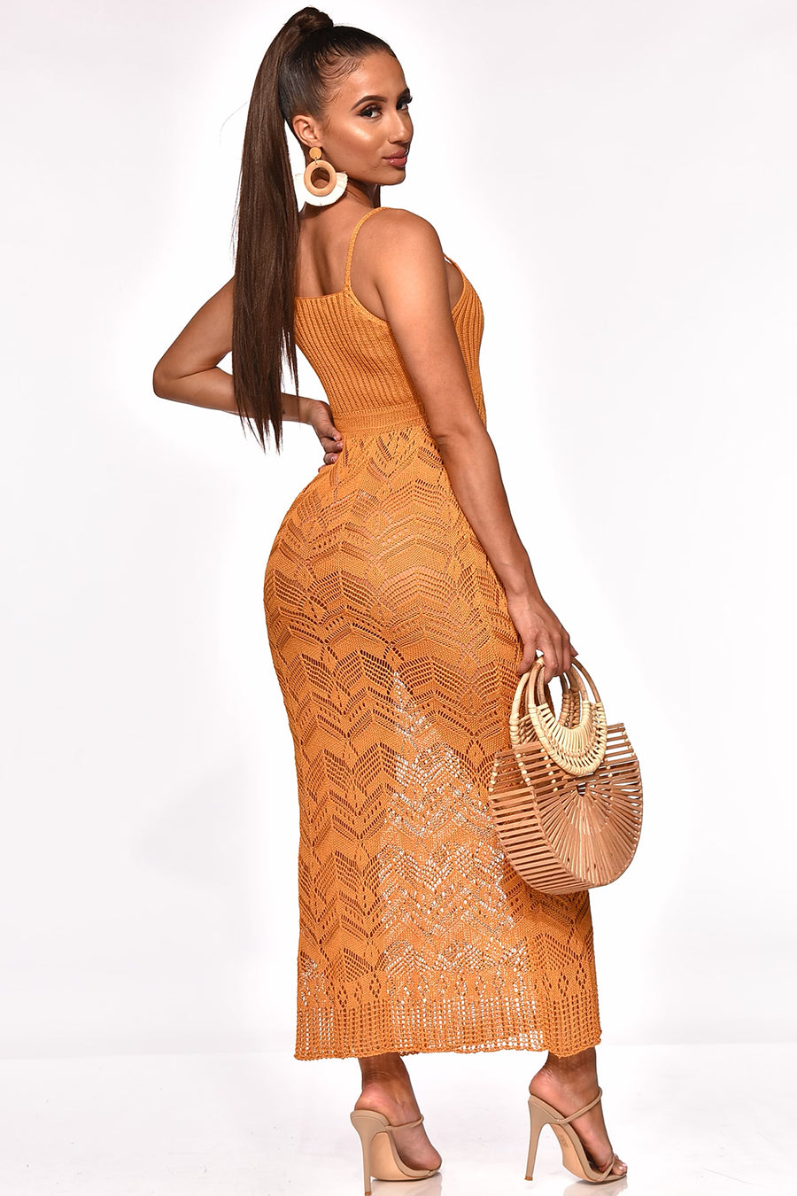 MEET ME IN ITALY COVERUP MAXI DRESS