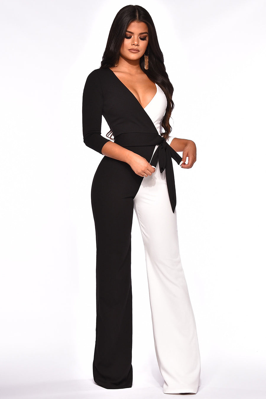 OPPOSITES ATTRACT JUMPSUIT