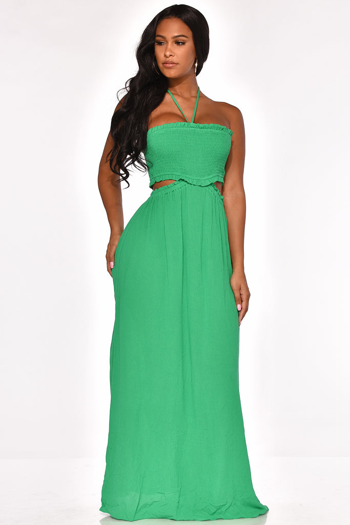 INSTANT ATTRACTION MAXI DRESS