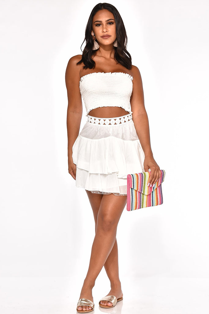 KEEPIN' IT CUTE SKIRT SET