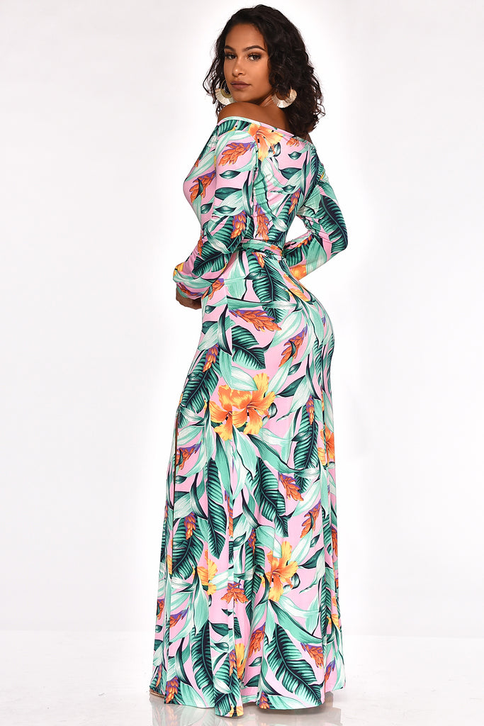 BEAUTY AND THE BLOOM MAXI DRESS