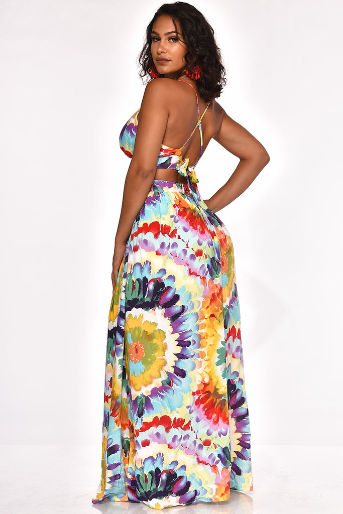 YOUR COLORFUL SOUL MAXI DRESS