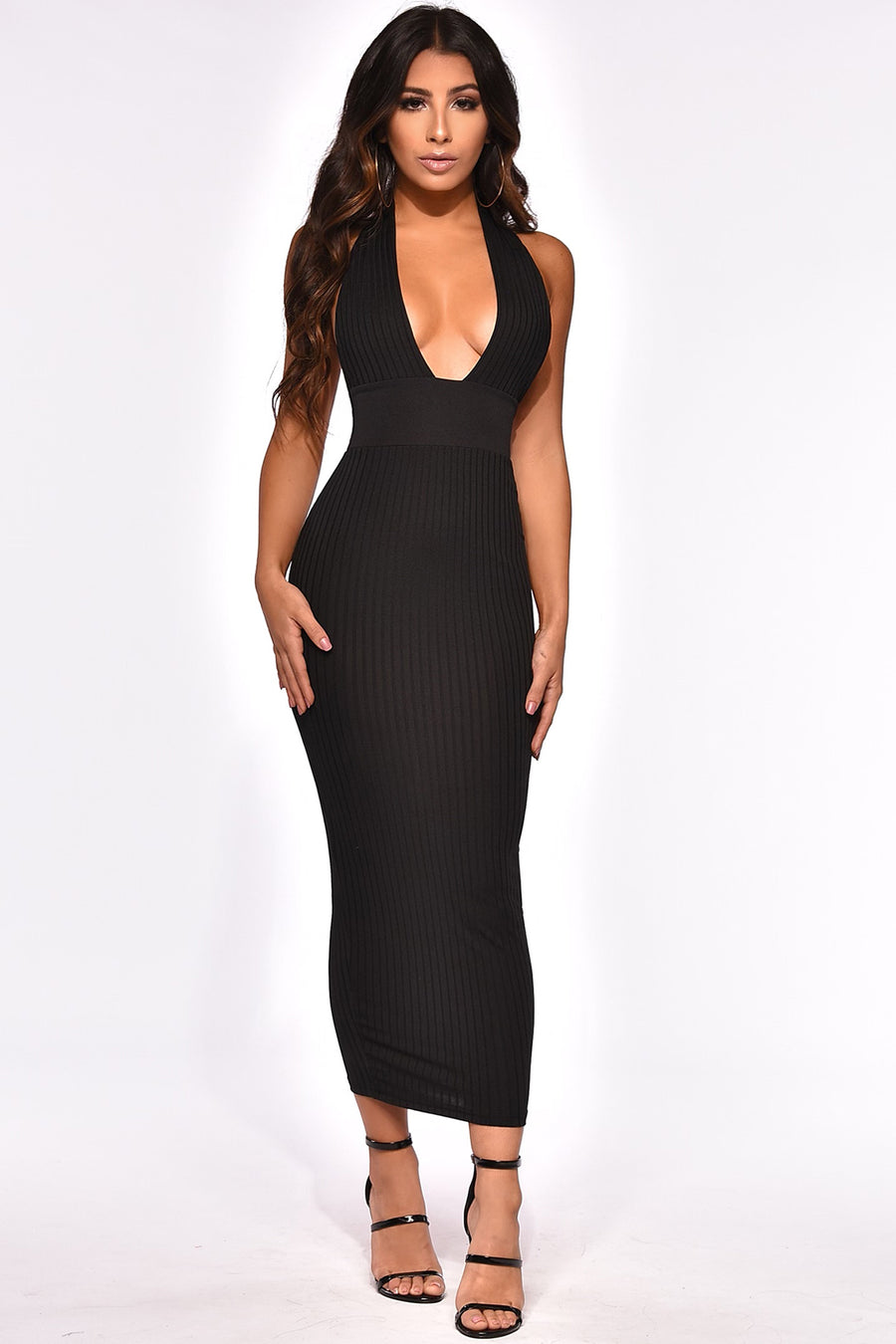 PENTHOUSE MIDI DRESS
