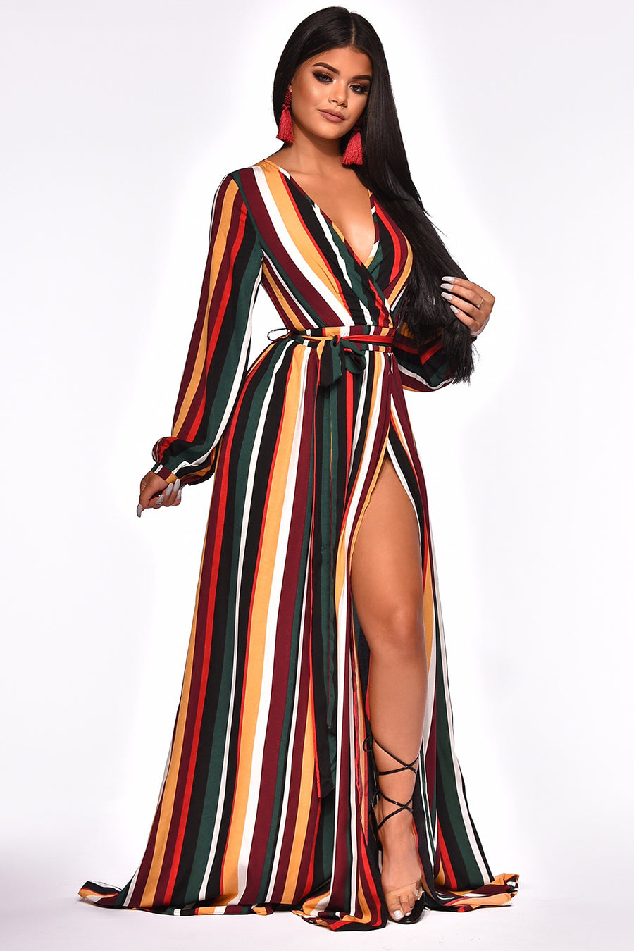 DONT HOLD IT AGAINST ME MAXI DRESS